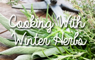 Cooking with Winter Herbs
