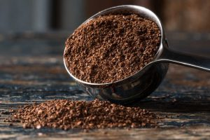 Picture of coffee grounds - 12 top home gardening hacks