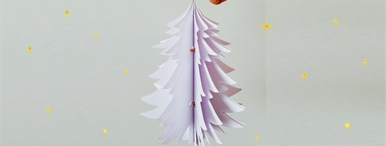 DIY: 3D Christmas Decorations