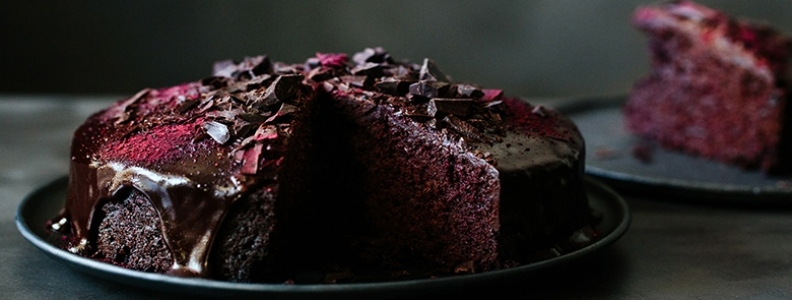 Unbeetable Chocolate Cake