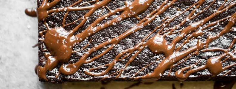Chocolate and Courgette Brownies