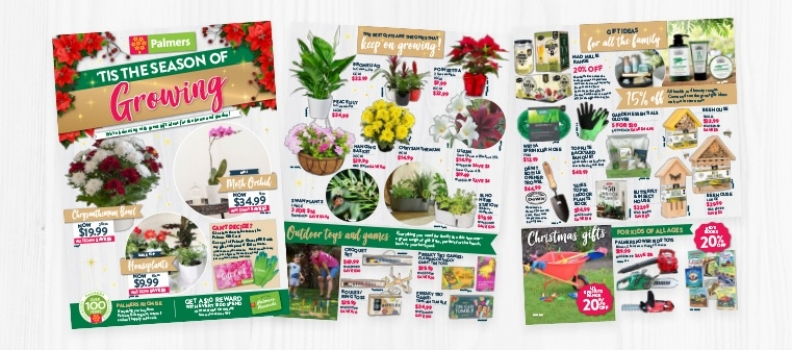 Palmers Christmas Catalogue