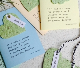 DIY: Plantable Gift Tags