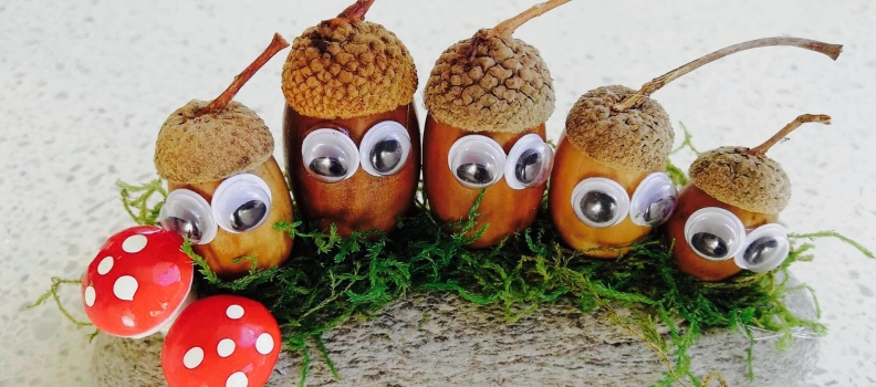 DIY: How to Make an Acorn Family